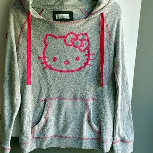 Hello Kitty Universal Studios sweatshirt hooded